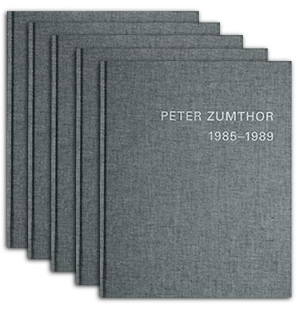 zumthor monography