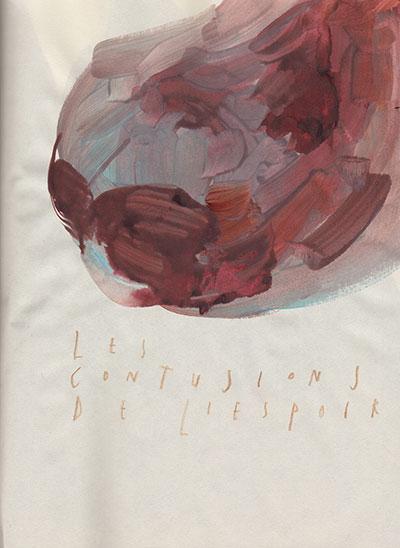 les contusions de l'espoir, 25 x 18,5 cm