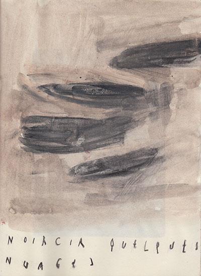 noircir les nuages, 25 x 18,5 cm