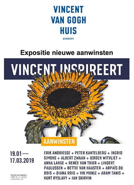 Vincent Van Gogh Huis - nieuwe aanwinsten